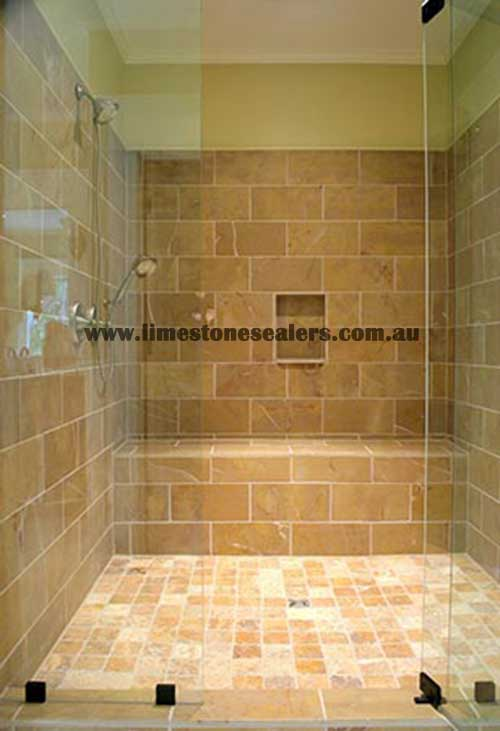 Sealing Limestone in Showers with amazing result