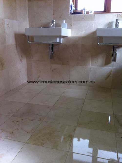 Townsville bathroom Limestone Matt White Floor Tile