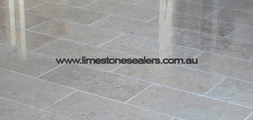 Bouvard grey limestone after sealing