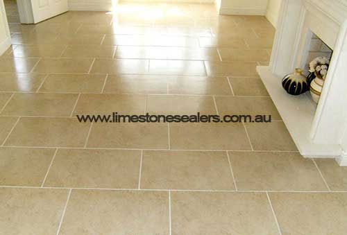 Sydney limestone sealing with topical sealer