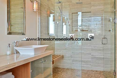 Bouvard limestone shower