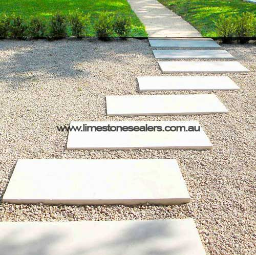 outdoor white limestone entrance