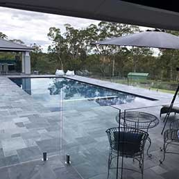 outdoor limestone pavers
